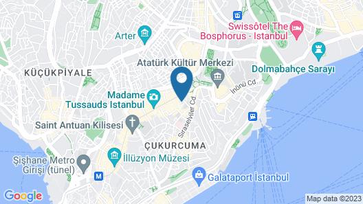 Mukarnas Taksim Hotel Map