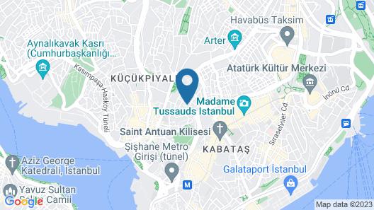 Maxhotel Map