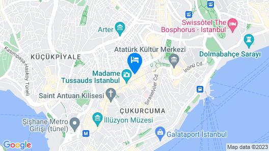 Grand Hotel Palmiye Map
