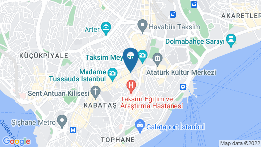 Bonne Sante Hotel Map
