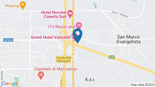 Grand Hotel Vanvitelli Map