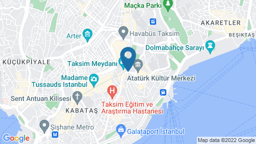 The Marmara Taksim Map