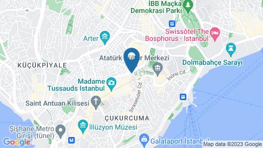 Utarit Taksim Map