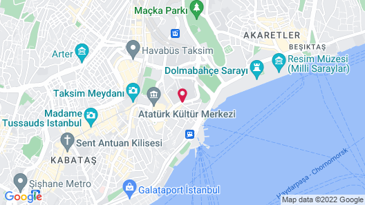 The Artisan Istanbul MGallery Map