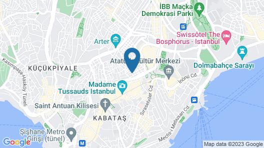 Maya Aparts Map