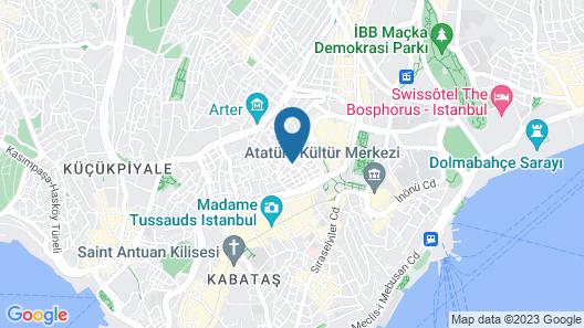 Bella Vista Hostel Map