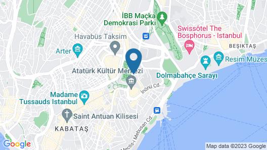 Gezi Hotel Bosphorus, Istanbul, a Member of Design Hotels Map