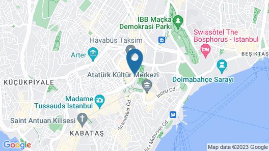 Germir Palas Hotel - Special Class Map