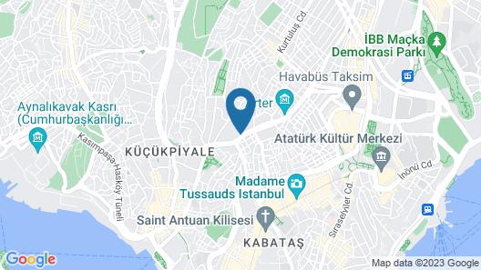 Sheraton Istanbul City Center Map