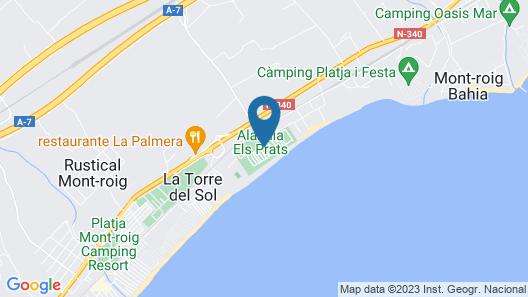 Alannia Els Prats Map