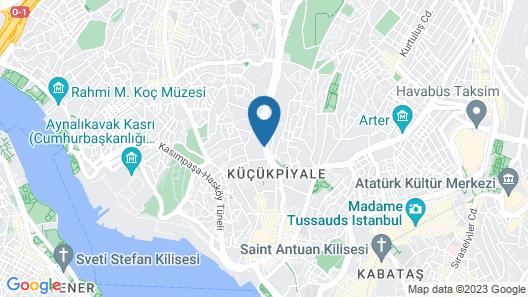 DoubleTree by Hilton Hotel Istanbul - Piyalepasa Map