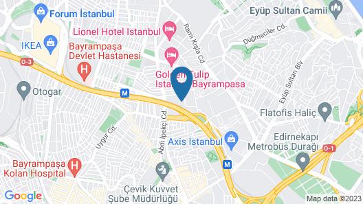 Ramada Encore by Wyndham Istanbul Bayrampasa Map