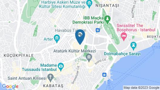 Nova Plaza Crystal Hotel Map