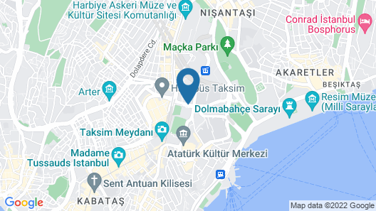 InterContinental Istanbul, an IHG Hotel Map