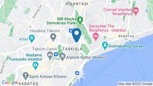 The Ritz-Carlton, Istanbul Map