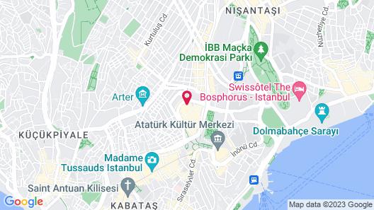 Titanic City Taksim Map