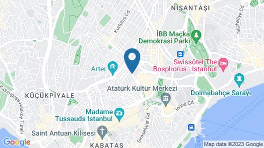 Metropolitan Hotels Taksim Map