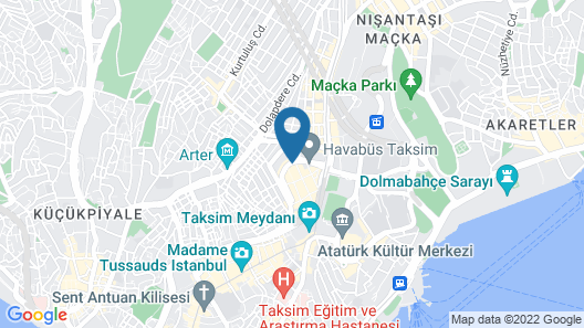 Barcelo Istanbul Map