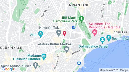 Divan Istanbul Map