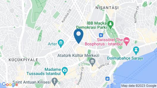 The Elysium Taksim Map