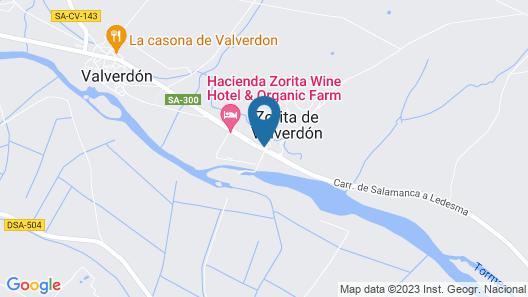 Hacienda Zorita Wine Hotel & Organic Farm Map
