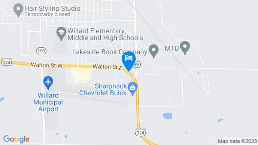 Willard Country Inn Map
