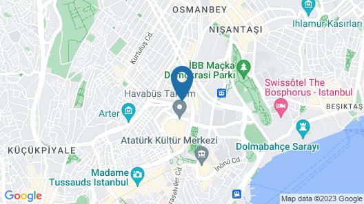 Taksim Green House Hostel Map