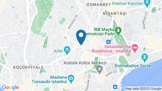 Elysium V Plus Taksim Map