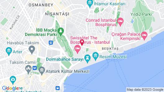 AC Hotel Istanbul Macka Map