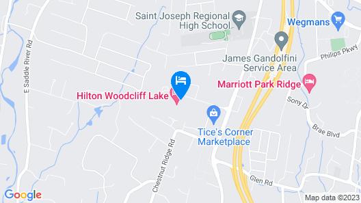 Hilton Woodcliff Lake Map