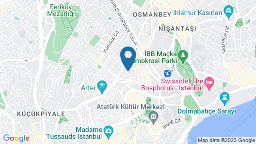 ALAA EL DIN HOTEL Map