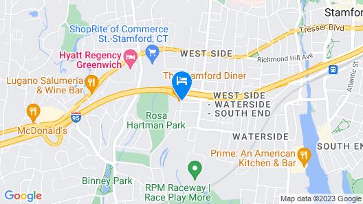 La Quinta Inn & Suites by Wyndham Stamford / New York City Map