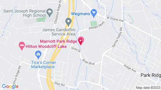 Marriott Park Ridge Map