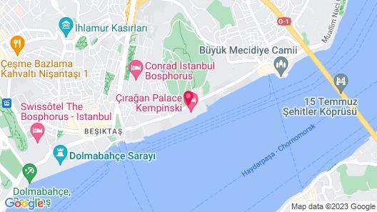 Ciragan Palace Kempinski Map