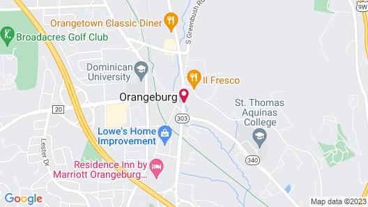 Holiday Inn Orangeburg-Rockland/Bergen Co, an IHG Hotel Map