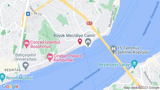 Radisson Blu Bosphorus Hotel, Istanbul Map