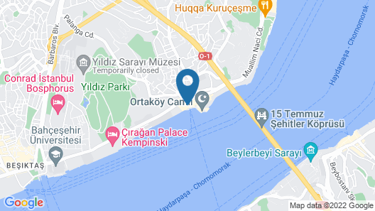 The Stay Bosphorus Map