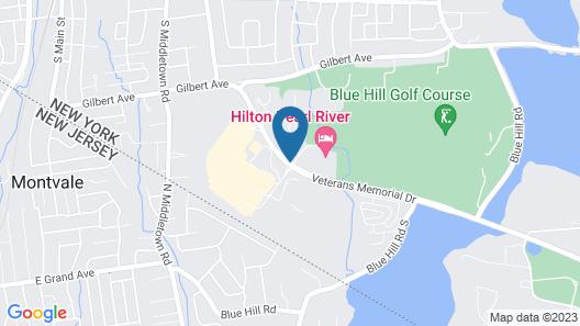 Hilton Pearl River Map