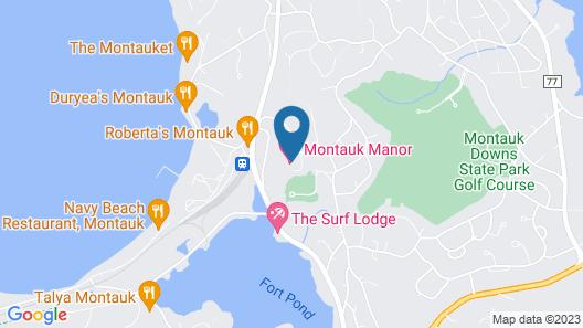 Montauk Manor Map