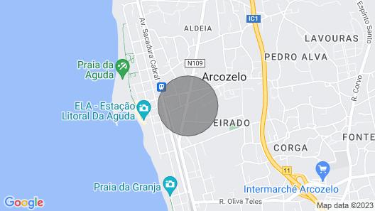 Beach Apartment Near Porto Historic Centre Map