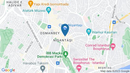 Nisantasi Exclusive Suites Map