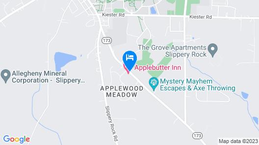 Applebutter Inn Map