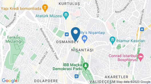 Nisantasi Flats Map