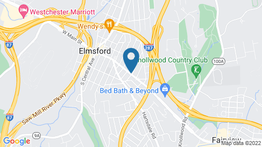 Extended Stay America - White Plains - Elmsford Map