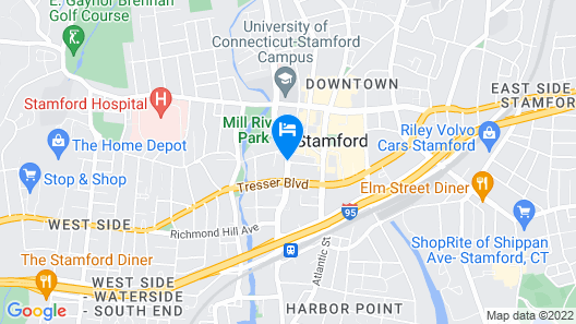 The Lloyd Stamford, Tapestry Collection by Hilton Map