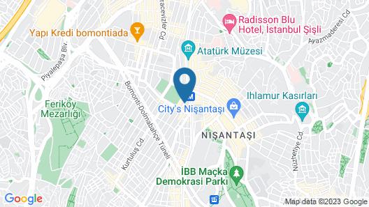Cumbali Suite Map