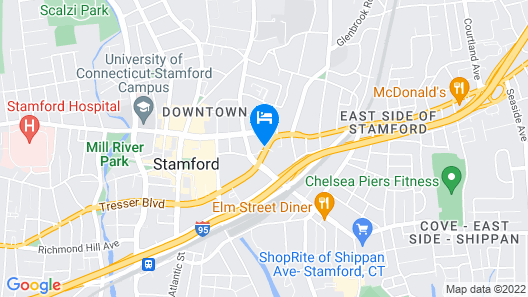 The Stamford Hotel Map