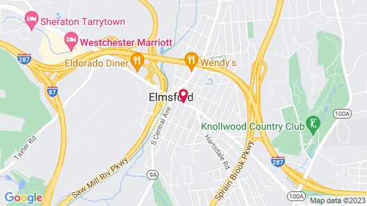 Motel 6 Elmsford, NY - White Plains Map