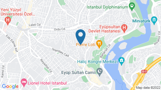 Eyup Sultan Family Apartment Map