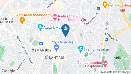 Ada Suites Nisantasi Map